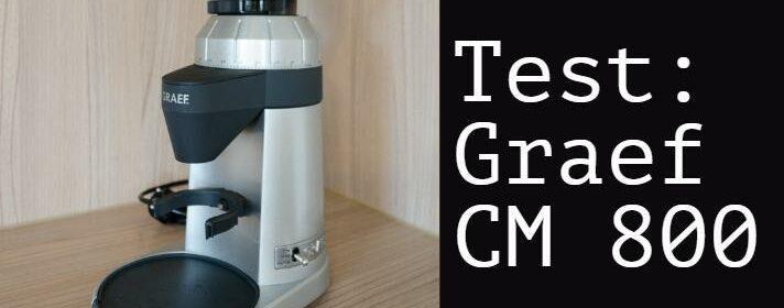 testbericht elektrische Kaffeemühle Graef CM 800
