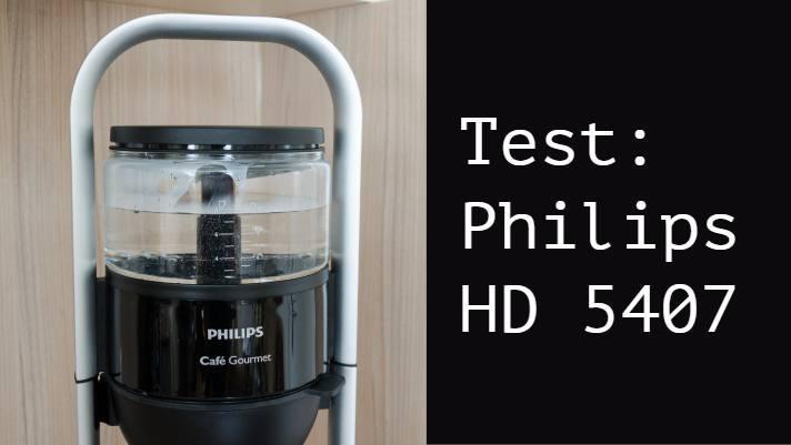 Testbericht Philips HD5407/60 cafe gourmet