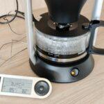 testbericht Philips HD5407 60 cafe gourmet messung temperatur direkt nach brühvorgang